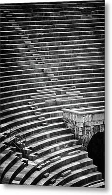 Steps Of Verona Arena  Metal Print by Carol Japp