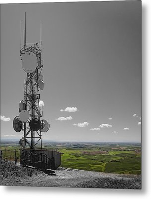 Steptoe Butte Overlooking The Palouse - Eastern Washington State Metal Print by Daniel Hagerman