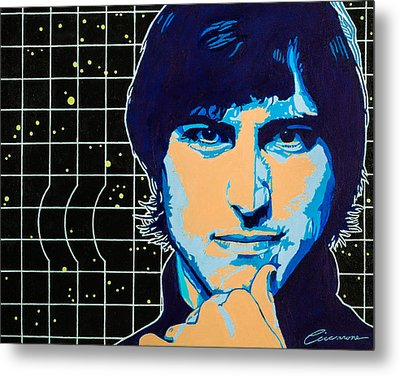 Steve Jobs Metal Print by Joe Ciccarone