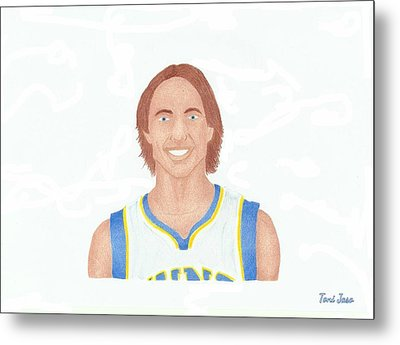 Steve Nash Metal Print by Toni Jaso