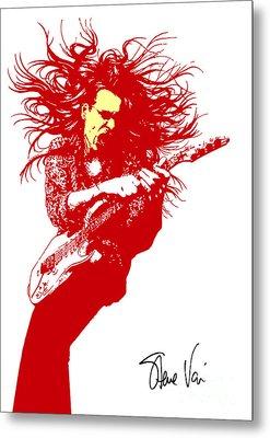 Steve Vai No.01 Metal Print