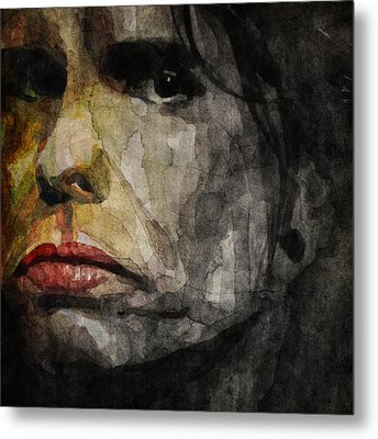 Steven Tyler  Metal Print by Paul Lovering