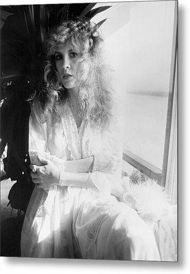 Stevie Nicks 1981 No.2 Metal Print by Chris Walter