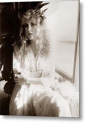 Stevie Nicks 1981 No.1 Metal Print by Chris Walter
