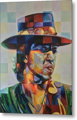 Stevie Ray Vaughan Metal Print