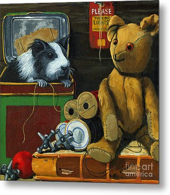 Still Life - Herman Finds A Friend Metal Print