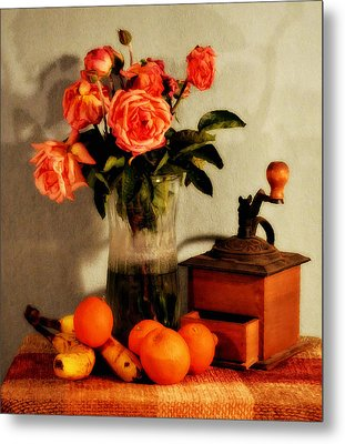 Metal Print featuring the photograph Still Life - Aging by Glenn McCarthy Art and Photography