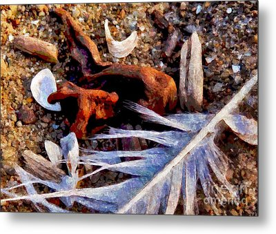 Still Life At Beach 2015 Metal Print