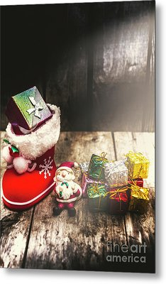 Still Life Christmas Scene Metal Print by Jorgo Photography - Wall Art Gallery