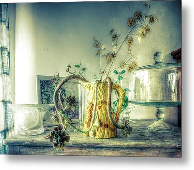 Metal Print featuring the photograph Still, Life Goes On by Wayne Sherriff