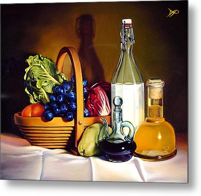 Still Life In Oil Metal Print by Patrick Anthony Pierson