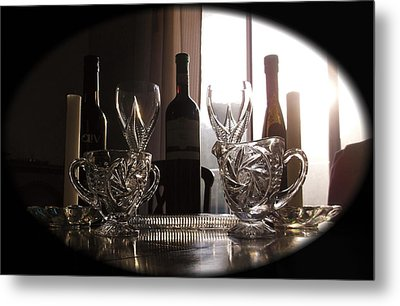Still Life - The Crystal Elegance Experience Metal Print
