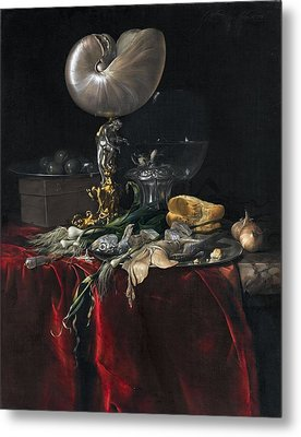 Still Life With Fish Metal Print by MotionAge Designs