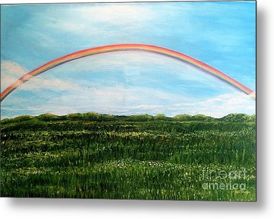 Still Searching For Somewhere Over The Rainbow? Metal Print by Kimberlee Baxter