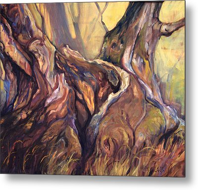 Still Standing Metal Print by Peggy Wilson