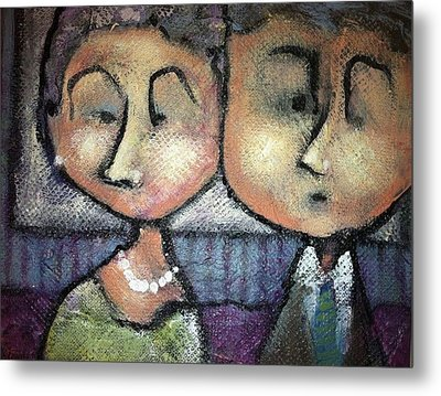 Still Together Metal Print