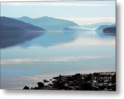 Metal Print featuring the photograph Still by Victor K