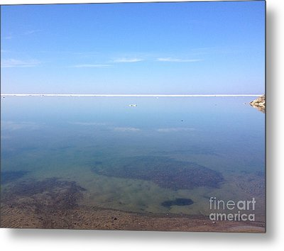 Still Tranquil Waters Metal Print by Anne Cameron Cutri