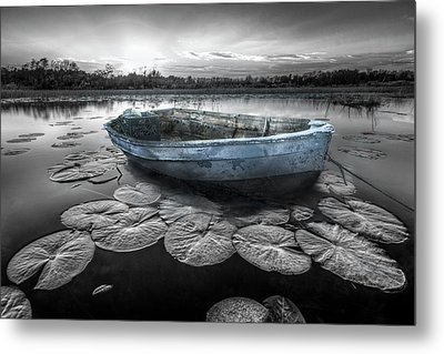Still Waters Metal Print by Debra and Dave Vanderlaan