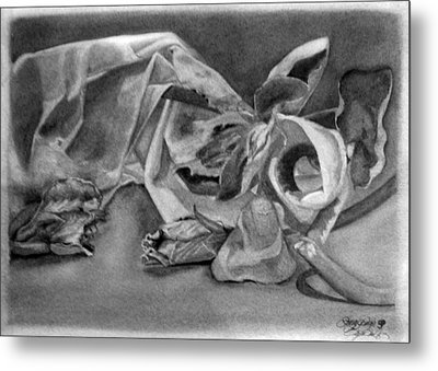 Stilllife Present Beauty Metal Print by Rebecca Tacosa Gray