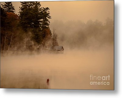 Stillness Of Autumn Metal Print