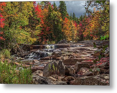 Stillwaters Falls Metal Print