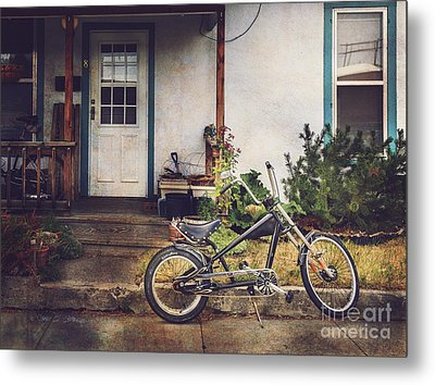 Metal Print featuring the photograph Sting Ray Bicycle by Craig J Satterlee