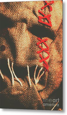 Stitched Up Madness Metal Print by Jorgo Photography - Wall Art Gallery