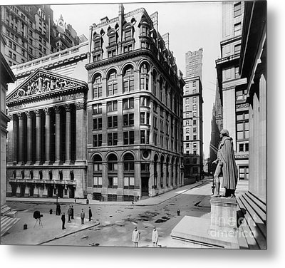 Stock Exchange, C1908 Metal Print by Granger