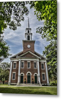 Stockbridge Congregational Church Metal Print