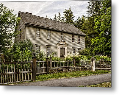 Stockbridge Mission House Metal Print