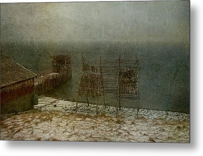 Stockfish Dryers Metal Print