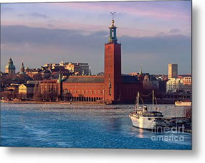 Stockholm City Hall Metal Print