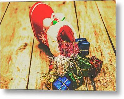 Stocking Up For Christmas Metal Print by Jorgo Photography - Wall Art Gallery