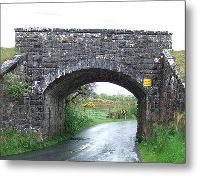 Stone Bridge In Ireland Metal Print