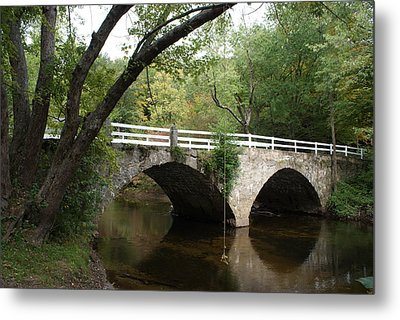 Stone Bridge Metal Print by Lois Lepisto