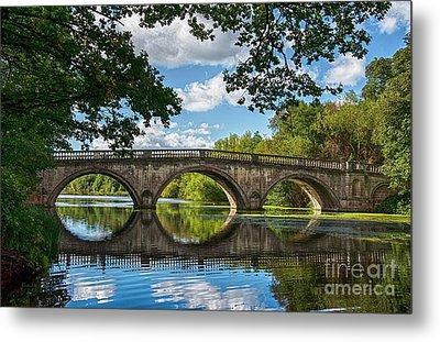 Stone Bridge Over The River 590  Metal Print
