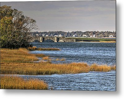 Metal Print featuring the photograph Stone Bridge At Mills Gut Colt State Park by Tom Prendergast