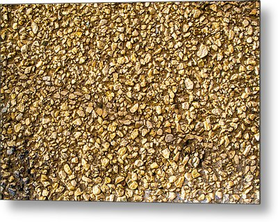 Stone Chip On A Wall Metal Print by John Williams