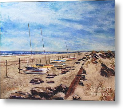 Stone Harbor Metal Print by Joyce A Guariglia