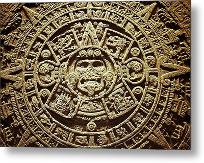 Stone Of The Sun Metal Print