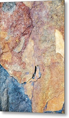 Metal Print featuring the photograph Stone Pattern by Christina Rollo