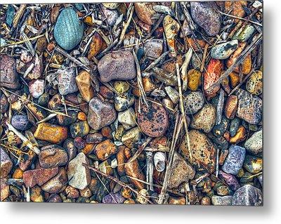 Metal Print featuring the photograph Dry Creek by Wayne Sherriff