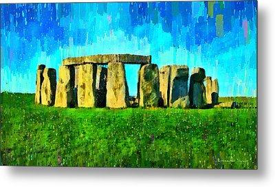 Stonehenge 2 - Pa Metal Print