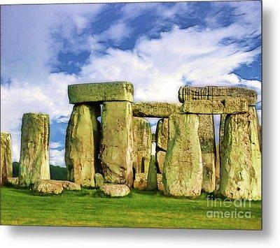 Stonehenge Metal Print by Judi Bagwell