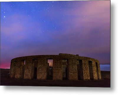 Metal Print featuring the photograph Stonehenge Sunrise by Cat Connor
