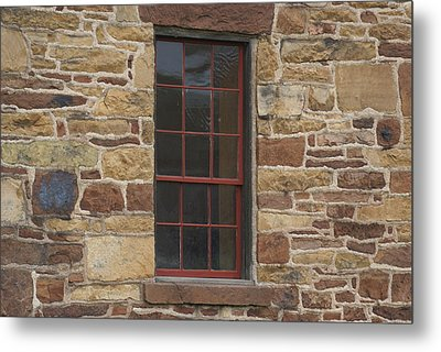 Metal Print featuring the photograph Stonehouse At Bullrun Virginia by Heidi Poulin