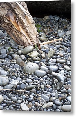 Stones Metal Print by Gene Ritchhart