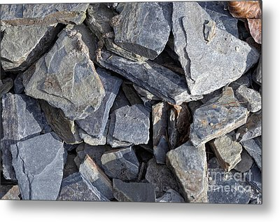 Stones Metal Print by Michal Boubin