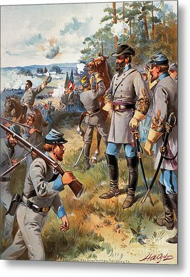 Stonewall Jackson, 1861 Metal Print by Granger